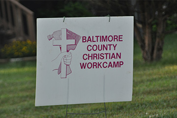 Sign for Baltimore Work Group