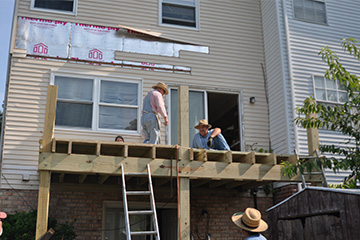 Baltimore Work Group Fixing House